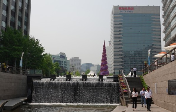 Séoul - Canal Cheonggyecheon