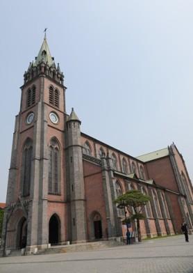 Séoul - Cathédrale catholique