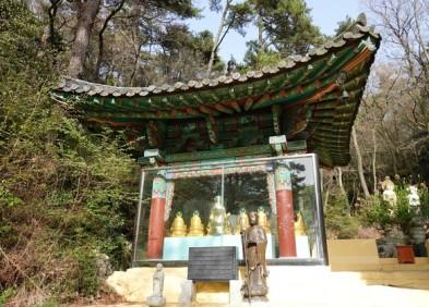 Busan - Taejongdae Park - Temple