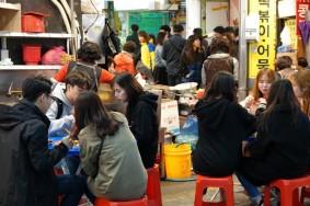 Busan - Marché Gukje - Resto de rue