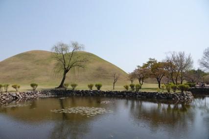 Gyeongju - Parc des tumuli Dareung-won