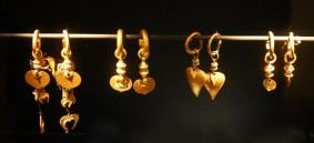 Gyeongju - Musée national - Boucles d'oreille