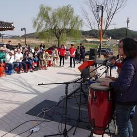 Gyeongju - Gyochon Hanok village - Concert pop !