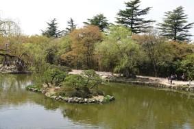 Gyeongju - Temple Bulguksa - Parc du temple