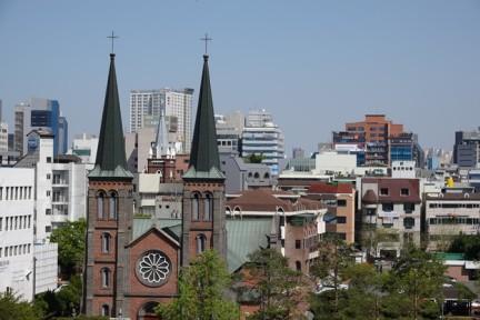 """Daegu - """"Vieux"""" quartier - Cathédrale"""