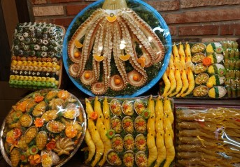 Daegu - Gâteaux à la pâte de riz...