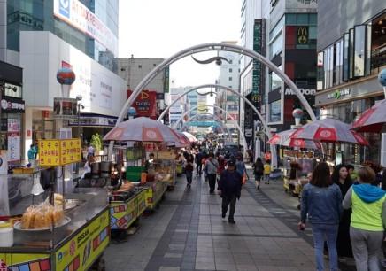 Busan - Quartier de Nampo, BIFF Square