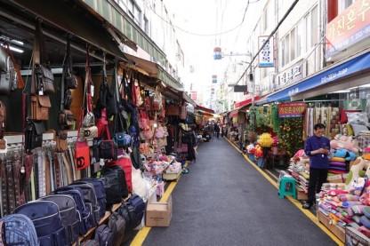 Busan - Quartier de Nampo, vers le Gukje Market