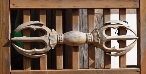 Temple Haeinsa - Bâtiment qui abrite le Tripitaka Koreana - Symbole bouddhique