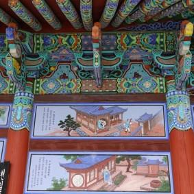 Temple Donghwasa - Pendant la rando improvisée, pause dans un petit ermitage