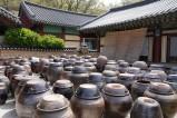 Temple Songgwangsa - Jarres à kimchi
