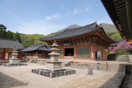 Temple Seonamsa - Hall principal