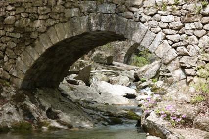 Temple Seonamsa - Pont de pierre
