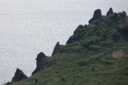 Seongsan Ilchulbong Peak - Bord du cratère