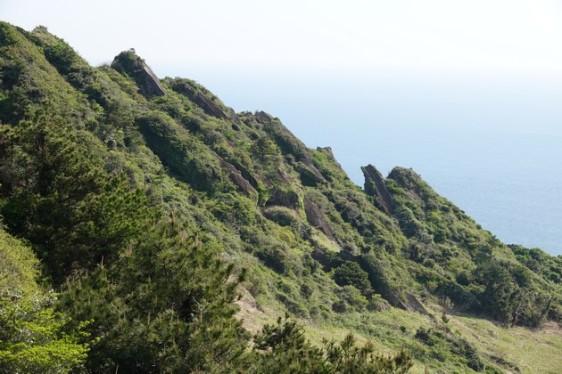 Seongsan Ilchulbong Peak - Cratère