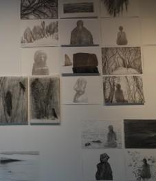 Jeju Stone Park - Musée d'Art - Travail au crayon