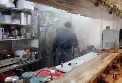Busan - resto de dumplings et de buns