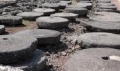 Jeju Stone Park - Musée d'Art - Village traditionnel - Meules en pierre de lave