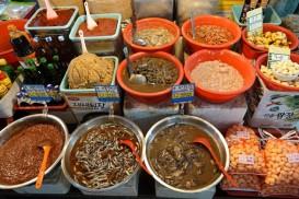 Jeju Town - Dungmun Market - Kimchi