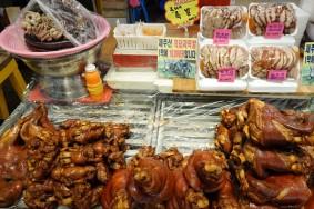Jeju Town - Dungmun Market - Cochon !