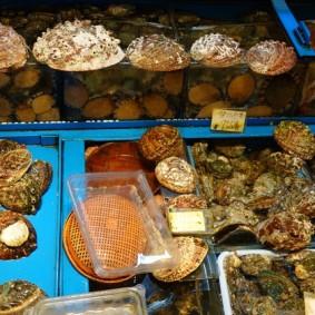 Jeju Town - Dungmun Market - Ormeaux
