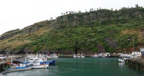 Côte sud-ouest de Jeju - Port non loin de Gosan