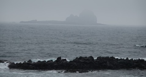 Côte sud-ouest de Jeju - Vers le port de Sagye