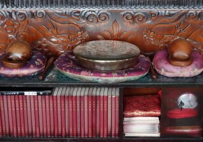 Côte sud-ouest de Jeju - Temple Sanbang - Instruments de musique