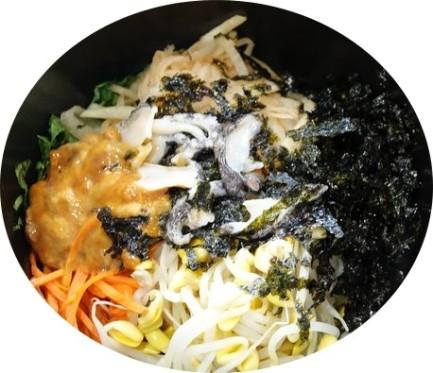 Côte sud-ouest de Jeju - Bibimbap d'ormeaux