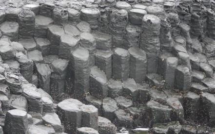 Jungmun - Falaises Jusangjeolli et orgues basaltiques