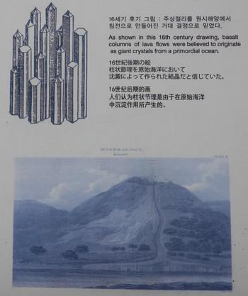 Jungmun - Falaises Jusangjeolli et orgues basaltiques - Explications sommaire du phénomène