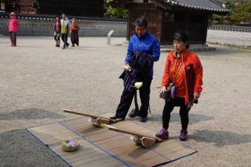 Jeonju - Vestiges du Palais impérial - Jeux anciens