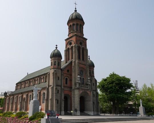 Jeonju - Eglise catholique