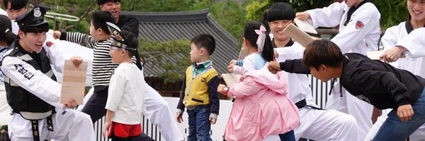 Fête des enfants et spectacles culturels au Namsangol Hanok village, à Séoul : une journée surprenante!