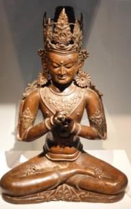 Séoul - Musée national de Corée - Galerie consacrée aux Arts asiatiques en général (Corée, Japon, Chine, Inde...)