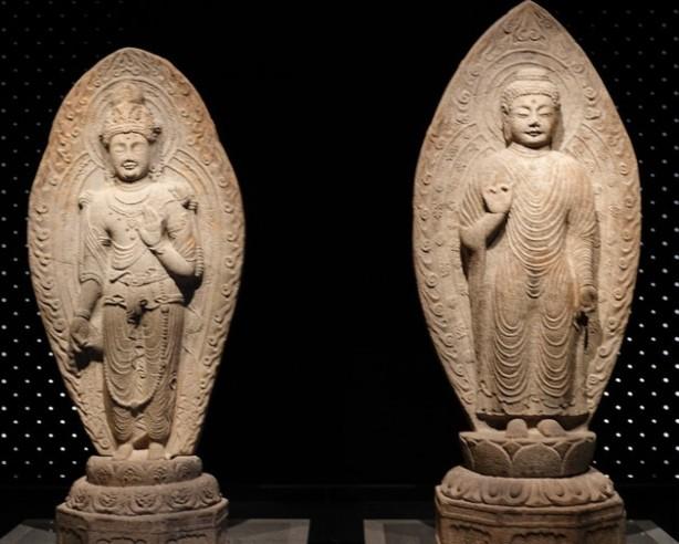 Séoul - Musée national de Corée - Salle des Bouddhas