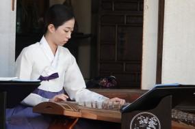 Séoul - Namsangol Hanok village - Cérémonie de mariage traditionnel