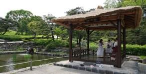 Séoul - Namsangol Hanok village - Parc au pied du Mont Namsan