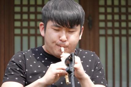 Séoul - Namsangol Hanok village - Musique traditionnelle