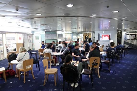 Ferry Busan / Shimonoseki - Salon
