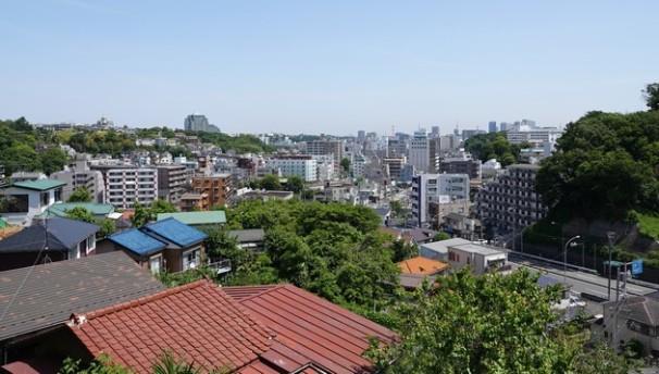 Yokohama - Vue depuis notre studio
