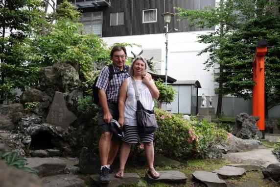 Yokohama - Petit temple de quartier...