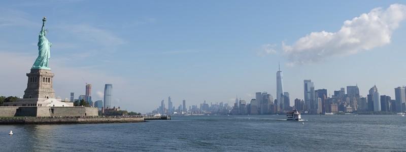 Lieux emblématiques de New York : Skyline, Statue de la Liberté et EllisIsland