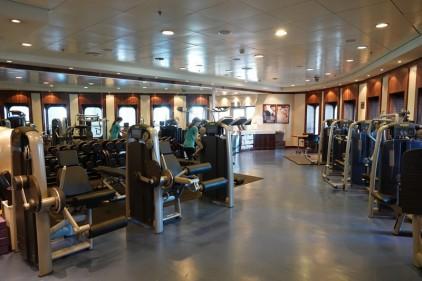 Queen Mary 2 - Salle de sport