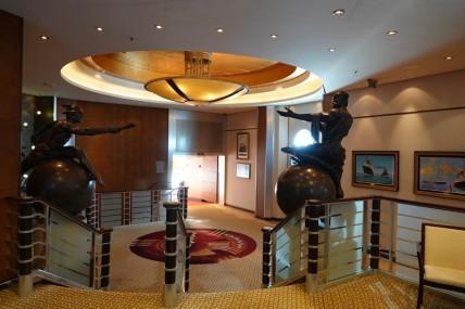 Queen Mary 2 - Intérieur - Déco raffinée