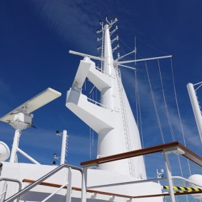 Queen Mary 2 - Pont extérieur