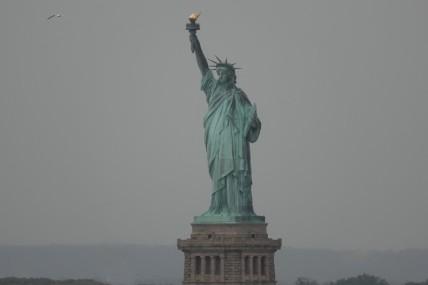 Queen Mary 2 - Statue de la Liberté