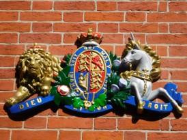 Boston - Beacon Hill - Emblème de la Couronne d'Angleterre