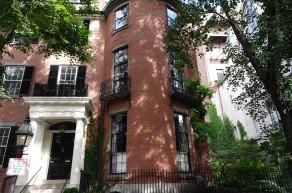 Boston - Beacon Hill - Plus ancienne maison du quartier, datant du début du XVIIIe siècle