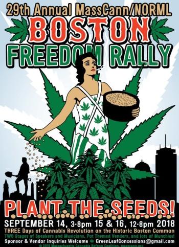 Boston Common - Boston Freedom Rally